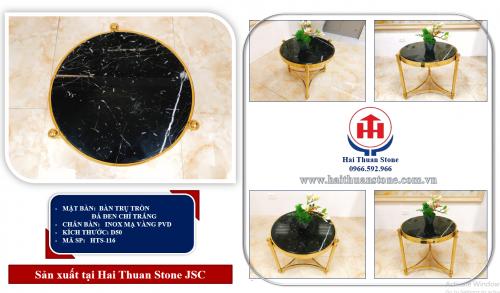 Bàn trà mặt đá HTS-116