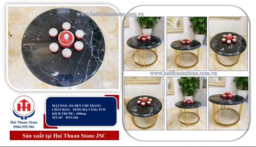Bàn trà mặt đá HTS-104