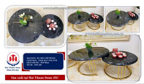 Bàn trà mặt đá HTS-105