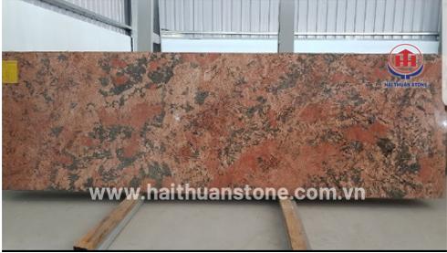 Đá Granite Alaska Red (khổ bé)