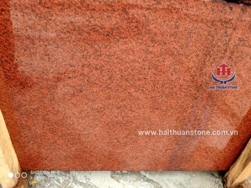 Đá Granite đỏ nhuộm trung