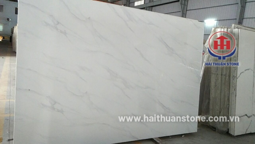 Đá Marble trắng Ý 3D HTSJ 005