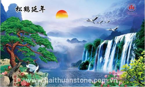 Tranh đá phong cảnh HTSJ 001