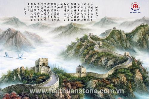Tranh đá phong cảnh HTSJ 017
