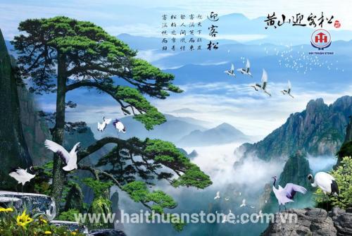 Tranh đá phong cảnh HTSJ 018