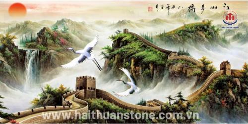 Tranh đá phong cảnh HTSJ 002