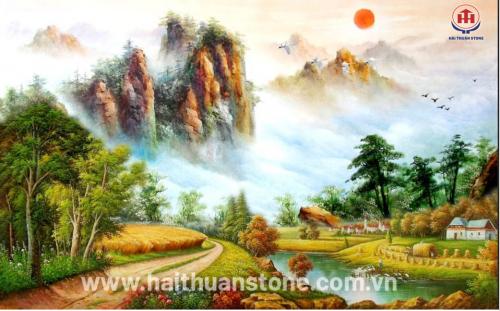 Tranh đá phong cảnh HTSJ 005