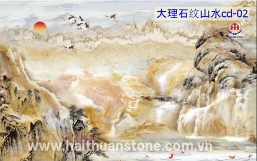 Tranh Đá Thủy Mạc HTSJ 007