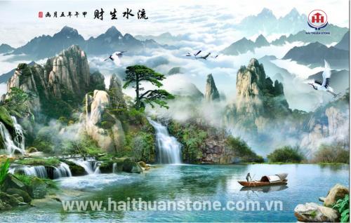 Tranh đá phong cảnh HTSJ 019